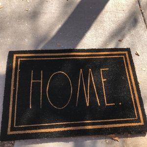 """Rae Dunn HOME doormat 24"""" x 36"""""""